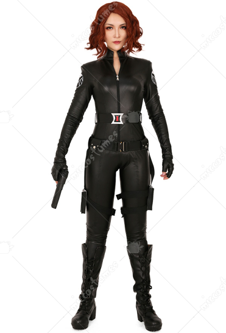 Exclusive Superheroine Cosplay Costume Bodysuit Inspired By Black Widow