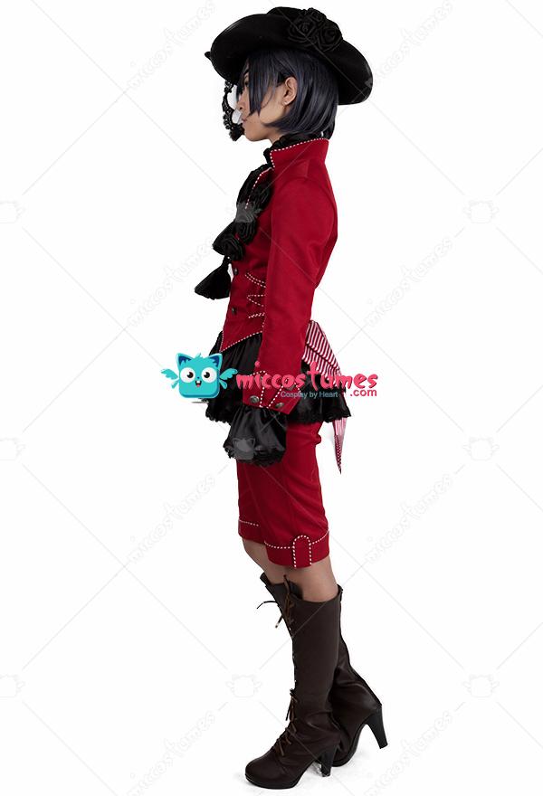Black butler ciel phantomhive rot cosplay kost me f r verkauf for Butlers ausverkauf