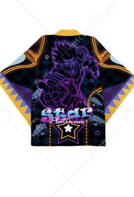 NEW JOJO/'S BIZARRE ADVENTURE Jotaro/'s Symbol Copslay T-shirt Anime Gold Top