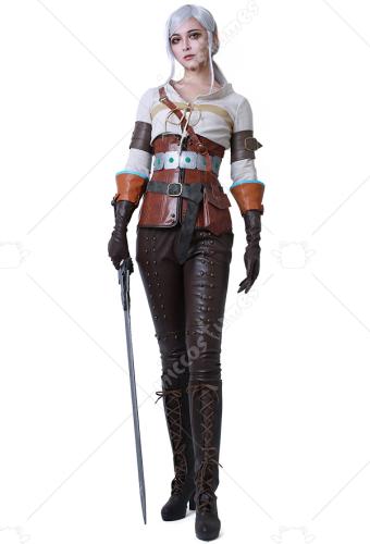 Ciri Hunt Witcher The Cosplay 3Wild Kostüm DHWIE29Y