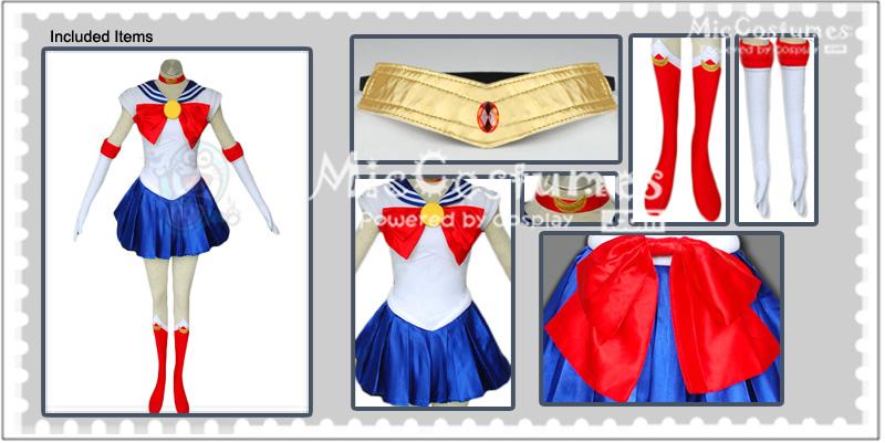 Sailor Moon Serena Tsukino Cosplay Kostüme Zu Verkaufen