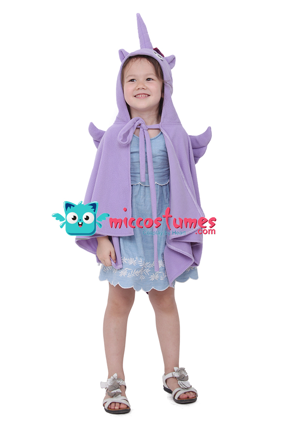 little pony einhorn kinder halloween cosplay kost m umhang. Black Bedroom Furniture Sets. Home Design Ideas