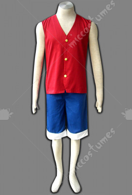 One Piece Luffy Cosplay Costume For Sale