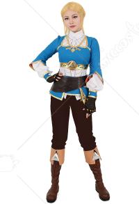 The legend of zelda breath of the wild link cosplay costume the legend of zelda breath of the wild princess zelda cosplay costume solutioingenieria Gallery