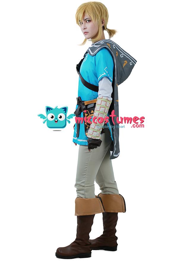 The legend of zelda breath of the wild link cosplay costume game costumes solutioingenieria Gallery