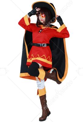 Konosuba la bénédiction de Dieu sur ce monde merveilleux megumin Cosplay Costume Set complet