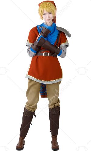 Cosplay vendre de rouge link dans zelda hyrule warriors - Link dans zelda ...
