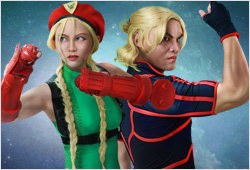 Cammy and Ken