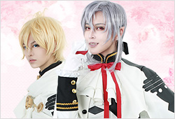 Ferid Bathory and Mikaela Hyakuya