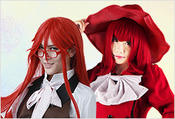 Madam Red and Grell Sutcliff