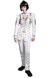 JoJos Bizarre Adventure Bruno Bucciarati Golden Wind Cosplay Costume