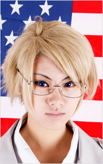 Axis Powers Hetalia America Cosplay Perruque