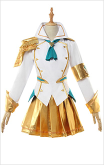 League of Legends Cosplay Battle Academia Lady of Luminosity Lux Prestige Edition Cosplay Costume