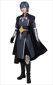 Fire Emblem Three Houses Costume de Cosplay Héros Byleth Uniforme