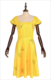 La La Land Mia Bright Yellow Cap Sleeve Cocktail Floral Party Dress
