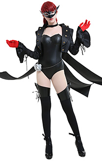 Persona 5 Costume de Cosplay Kasumi Yoshizawa Phantom Thieves of Hearts Justaucorps Collant