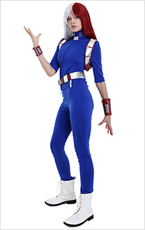 Boku no Hero My Hero Academia Shoto Todoroki Female Hero Costume Cosplay Costume Uniform
