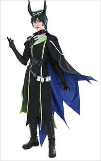 Twisted-Wonderland Diasomnia Malleus Draconia Cosplay Costume Coat Outfit