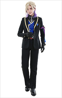 Twisted-Wonderland Vil Schoenheit Pomefiore Dorm Uniform Cosplay Costume