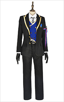 Twisted-Wonderland Rook Hunt Pomefiore Dorm Uniform Cosplay Costume