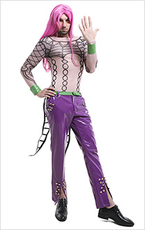 JoJos Bizarre Adventure Golden Wind Diavolo Cosplay Kostüm
