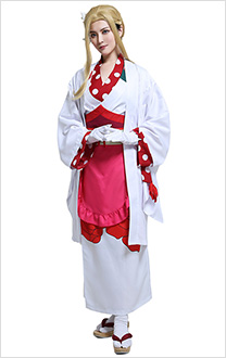 Toilet Bound Hanako Kun Fox Kitsume Yako Cosplay Costume Kimono Full Set with headdress