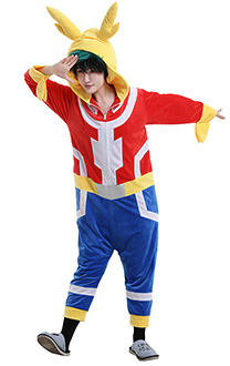My Hero Academia MHA Deku Midoriya Izuku All Might Body Overall Cosplay Kostüm