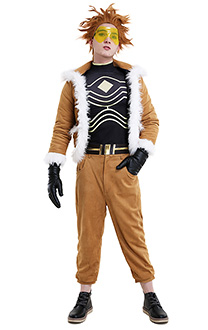 My Hero Academia Wing Hero Hawks Keigo Takami Cosplay Costume Jacket Outfit and Pants