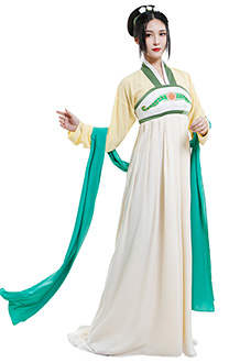 Avatar The Last Airbender Costume de Cosplay Toph Beifong Style Chinois Hanfu