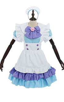 Pink Cute Cat Lolita Maid Dress Cosplay Costume Suit for Girls Woman Waitress Maid Party Costume