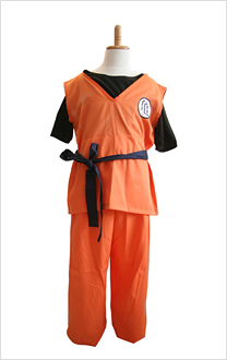 Dragon Ball Goku Cosplay Kids Costume With Kame Letter Child S