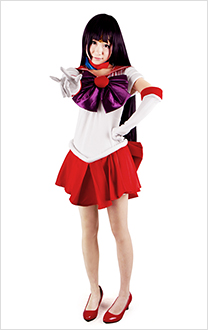 Sailor Moon Hino Rei Sailor Mars Cosplay Costume
