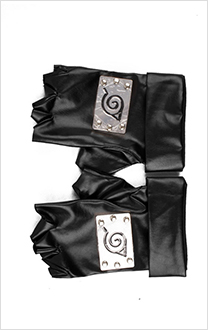 Naruto Leaf Village Gloves