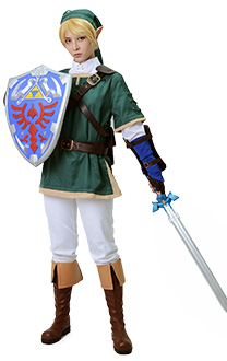 [Free US Economy Shipping] Zelda Twilight Princess Link Cosplay Costume