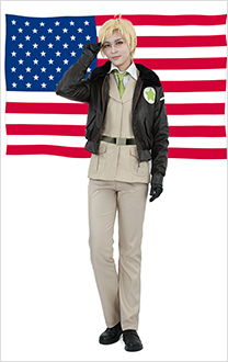 Hetalia Axis Powers America Cosplay Kostüme