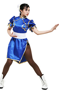 Street Fighter Chun Li Cosplay Kostüme