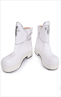 Sword Art Online Asuna Cosplay Bottes