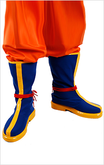 Zapatos Botas Cosplay de Dragón Ball Son Goku