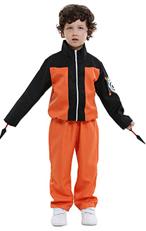Naruto Uzumaki Kids Cosplay Costume
