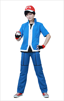 Pokemon X and Y Ash Ketchum Cosplay Kostüme