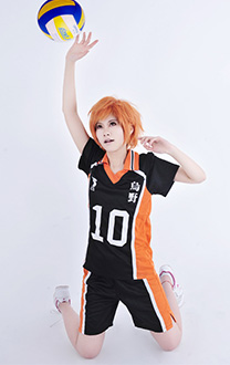 Haikyuu!! Karasuno High Shouyou Hinata Cosplay Costume Volleyball Uniform