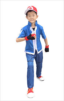 Pokemon X And Y Ash Ketchum Kinder Cosplay Kostüme