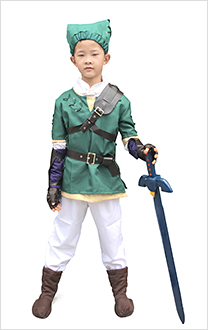 Zelda Twilight Princess Link Kinder Cosplay Kostüme