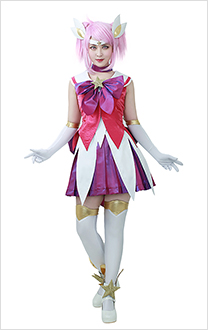 League Of Legends The Lady Of Luminosity Star Guardian Lux Cosplay Costume