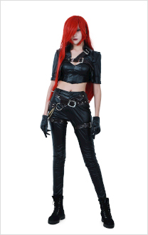 League of Legends Katarina Du Couteau Cosplay Costume