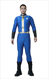 Fallout 4 Male Sole Survivor Nate Cosplay Costume Adult Vault Jumpsuit Two-Piece Suit Jacket Pants