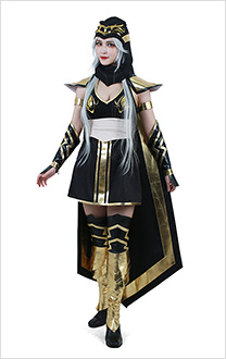 League of Legends the Frost Archer Ashe Cosplay Costume