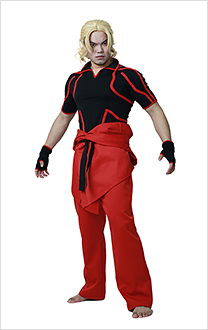 Street Fighter V Ken Adult Cosplay Kostüm