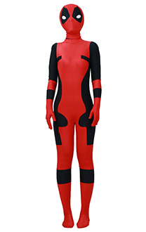 Traje de Cosplay de superhéroe para niños inspirado en Deadpool Order to Made