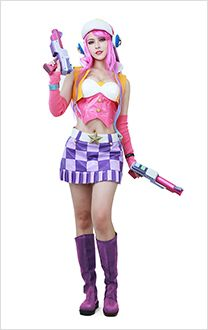 Cosplay de Arcade Miss Fortune dans League of Legends